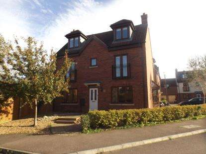 4 Bedrooms Detached House for sale in Berrington Grove, Westcroft, Milton Keynes