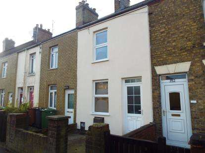 2 Bedrooms Terraced House for sale in Lincoln Road, Peterborough, Cambridgeshire