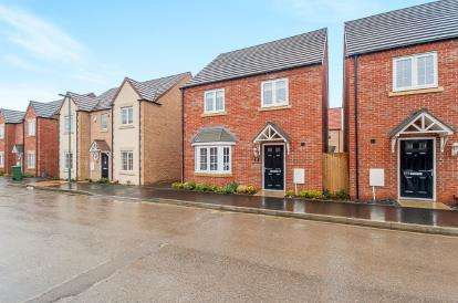 4 Bedrooms Detached House for sale in Apollo Avenue, Cardea, Peterborough, United Kingdom
