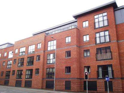 2 Bedrooms Flat for sale in Newport House, Newport Street, Worcester, Worcestershire