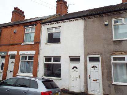 2 Bedrooms Terraced House for sale in Edward Street, Hinckley, Leicestershire