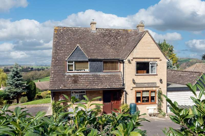 4 Bedrooms Detached House for sale in Selsley West, Stroud