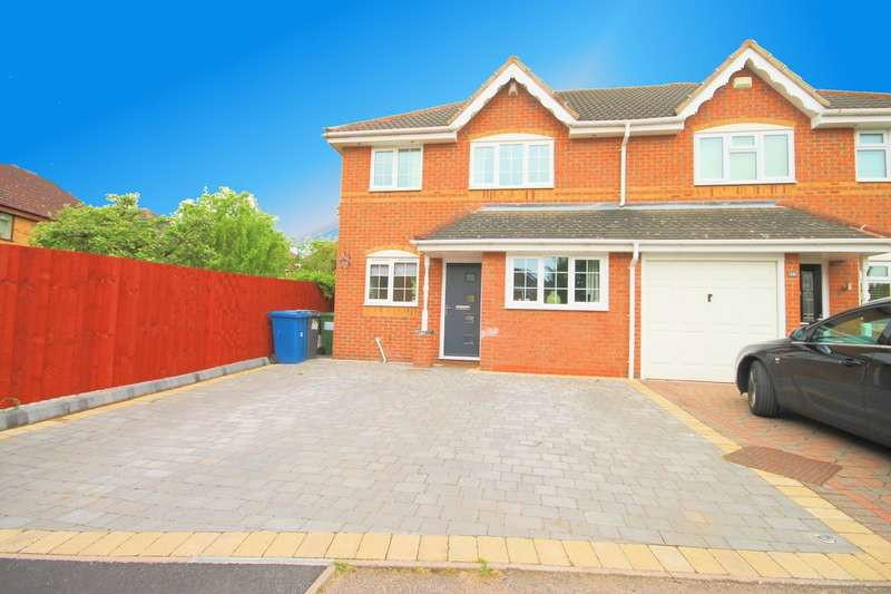 3 Bedrooms Semi Detached House for sale in Harwood Drive, Dosthill, Tamworth
