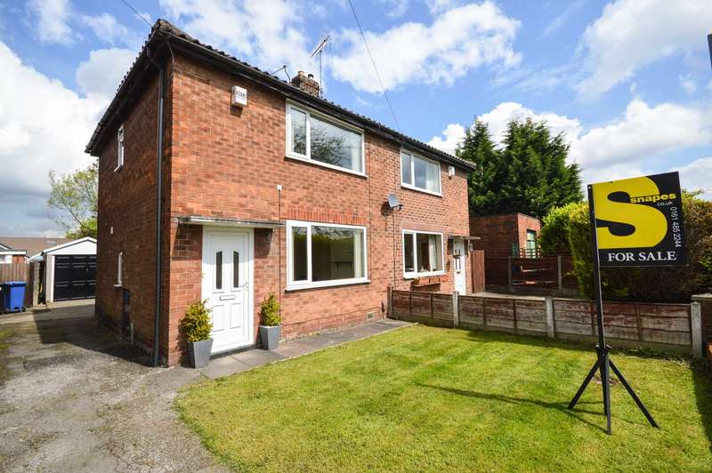 2 Bedrooms Semi Detached House for sale in Colwyn Road, Cheadle Hulme
