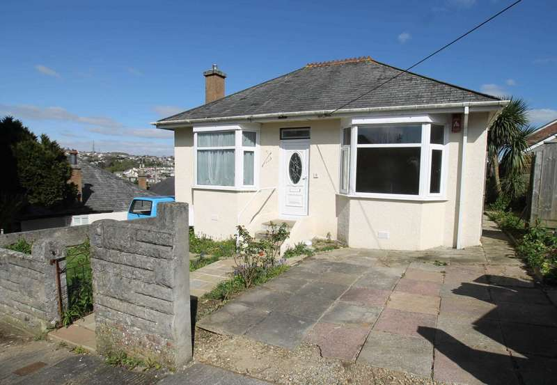 2 Bedrooms Detached Bungalow for sale in Bloomball Close, Higher Compton, Plymouth, PL3 6QG