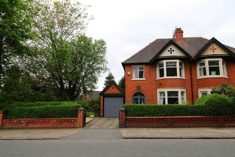 3 Bedrooms Semi Detached House for sale in Rectory Lane, Prestwich
