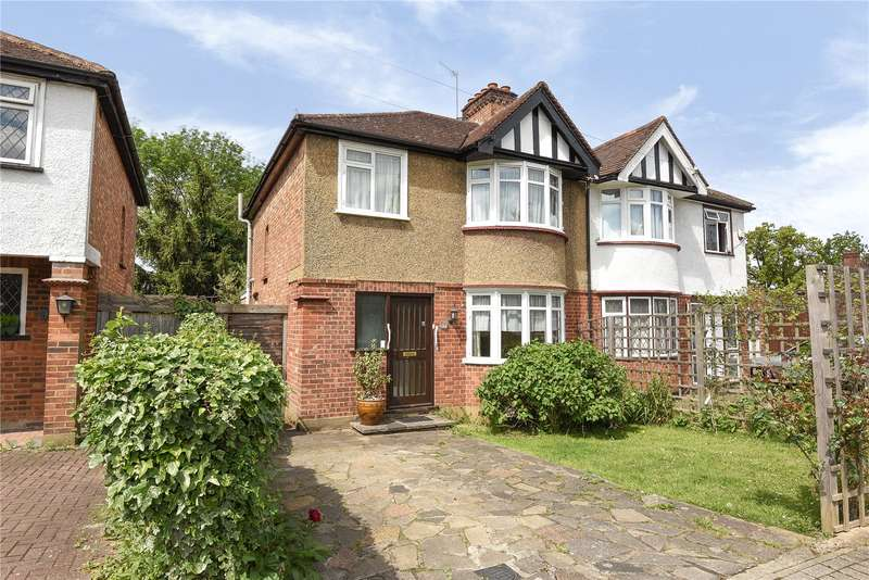 3 Bedrooms Semi Detached House for sale in Belsize Road, Harrow Weald, Middlesex, HA3