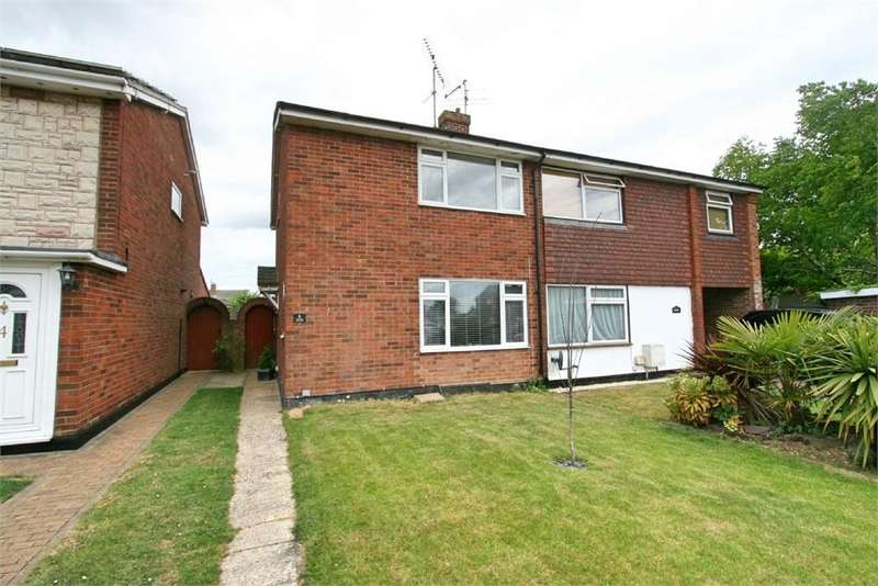 2 Bedrooms Semi Detached House for sale in Eleanor Walk, Tiptree, COLCHESTER, Essex