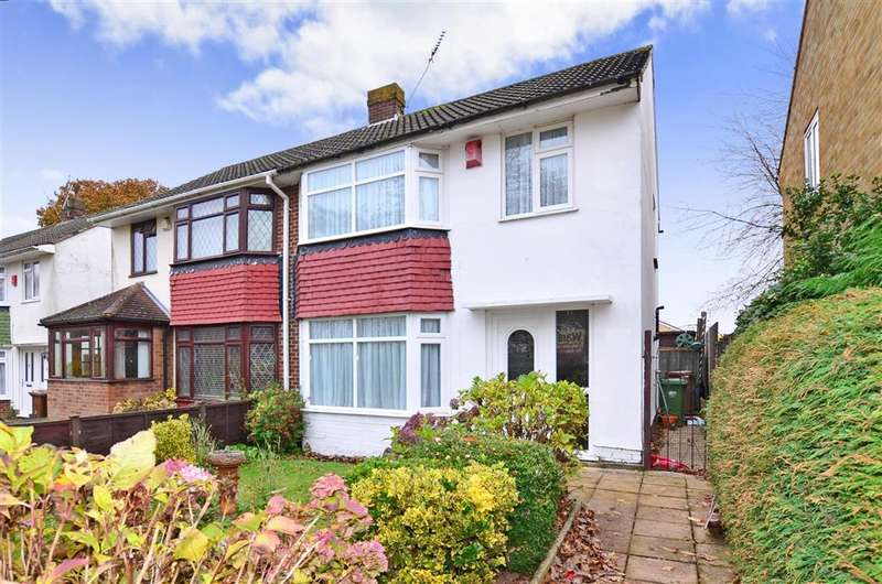3 Bedrooms Semi Detached House for sale in Lords Wood Lane, Lords Wood, Chatham, Kent