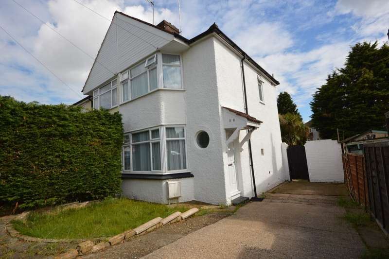2 Bedrooms Semi Detached House for sale in Beechcroft Avenue, Barnehurst , DA7