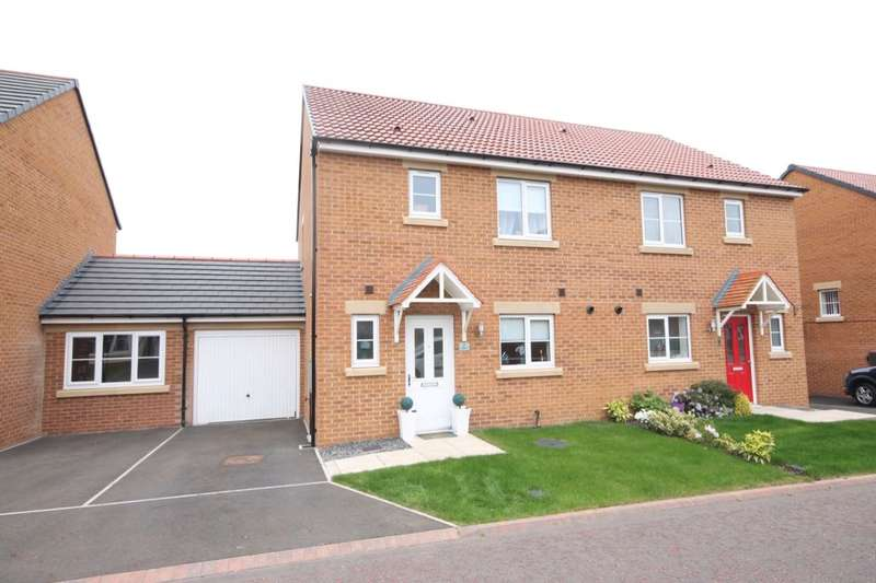 3 Bedrooms Semi Detached House for sale in Nightjar, Washington, NE38