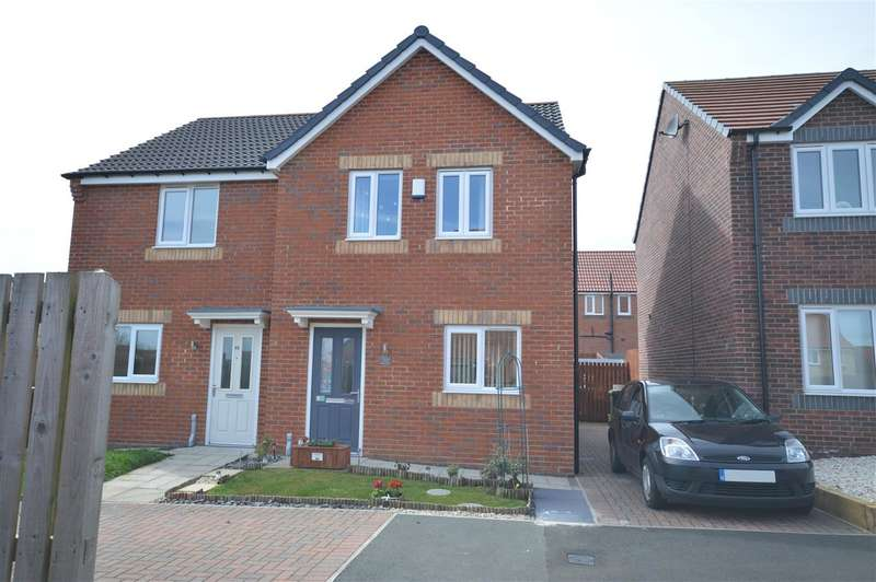 3 Bedrooms Semi Detached House for sale in Kingsdale Close, Stanley
