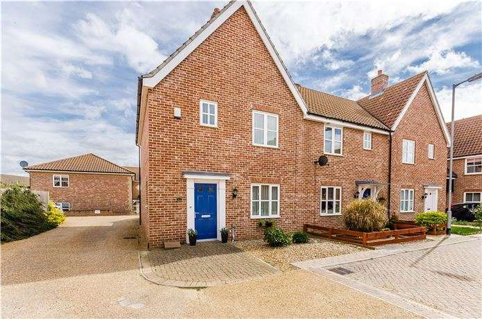 3 Bedrooms End Of Terrace House for sale in Cyprian Rust Way, Soham