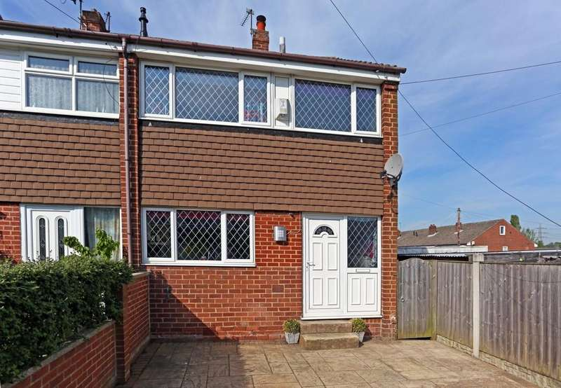 3 Bedrooms Town House for sale in Moor Avenue, Stanley