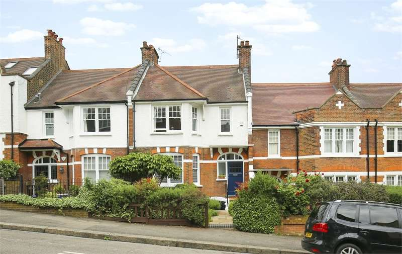 5 Bedrooms Terraced House for sale in Glasslyn Road, Crouch End, London