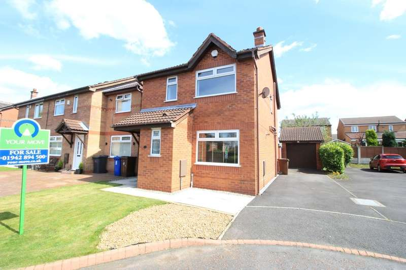 3 Bedrooms Detached House for sale in Dewberry Close, Tyldesley, Manchester, M29