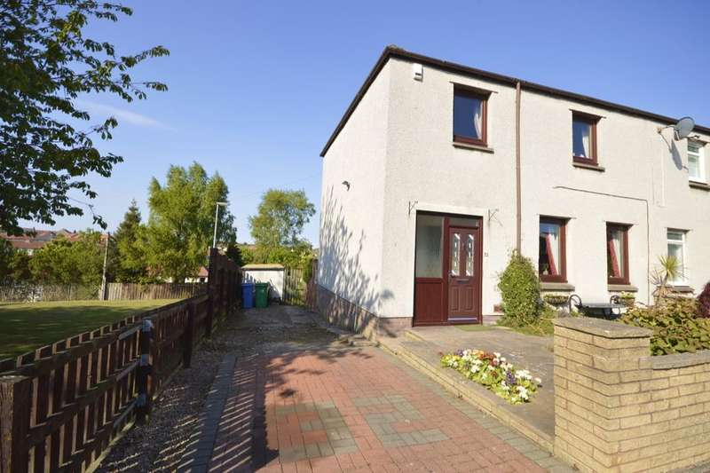 3 Bedrooms Semi Detached House for sale in Cleish Gardens, Kirkcaldy, KY2