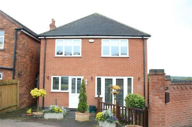 4 Bedrooms Detached House for sale in Swadlincote Lane, Castle Gresley, Swadlincote, Derbyshire