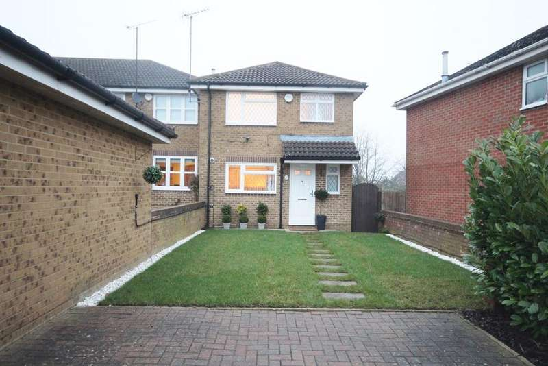 3 Bedrooms End Of Terrace House for sale in Whitwell Close, Barton Hills, Luton, LU3