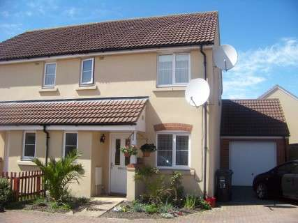 3 Bedrooms Semi Detached House for sale in Turnock Gardens, Weston-super-Mare