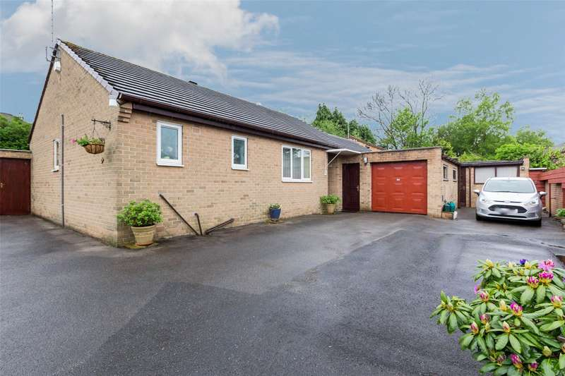 2 Bedrooms Detached Bungalow for sale in Green Oak Grove, Sheffield, South Yorkshire, S17