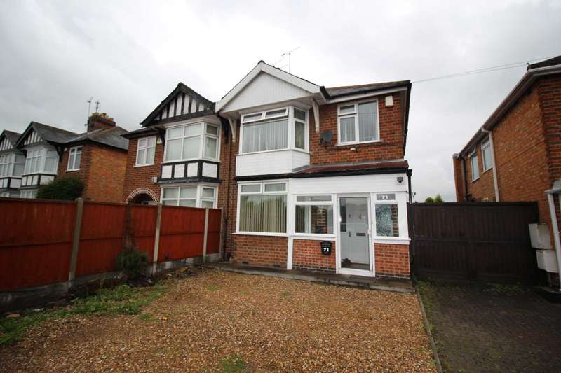 3 Bedrooms Semi Detached House for sale in Narborough Road South, Leicester