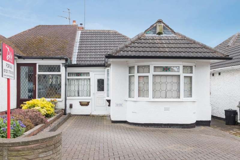 3 Bedrooms Semi Detached Bungalow for sale in Elmay Road, Sheldon, Birmingham