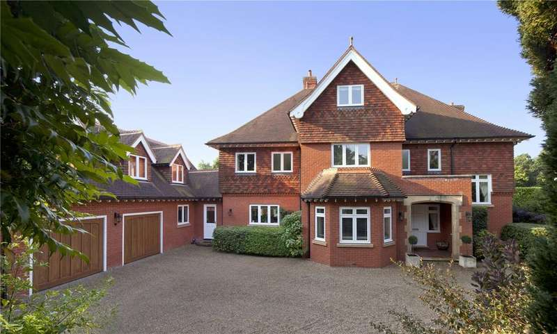 6 Bedrooms Detached House for sale in Springwood Park, Shipbourne, Kent, TN11
