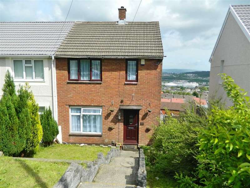 2 Bedrooms Semi Detached House for sale in Penymor Road, Penlan