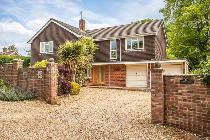 4 Bedrooms Detached House for sale in Dale Close, Littleton, Winchester, Hampshire, SO22