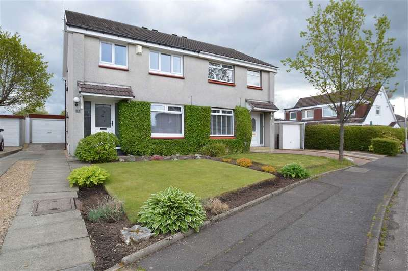 3 Bedrooms Semi Detached House for sale in Boyd Drive, Motherwell