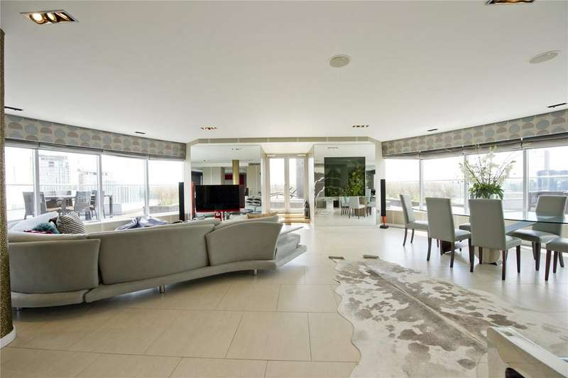 3 Bedrooms Penthouse Flat for rent in New Providence Wharf, 1 Fairmont Avenue, Canary Wharf, London, E14