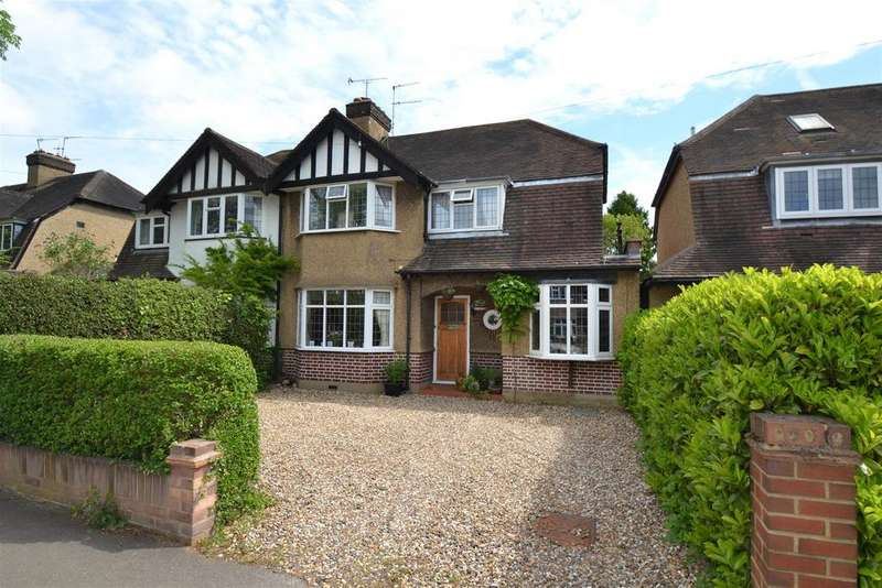 4 Bedrooms Semi Detached House for sale in Beechwood Avenue, St. Albans