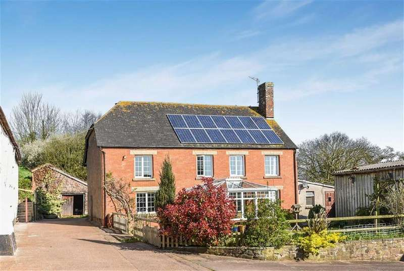5 Bedrooms Detached House for sale in Long Barn, Sandford, Crediton, Devon, EX17