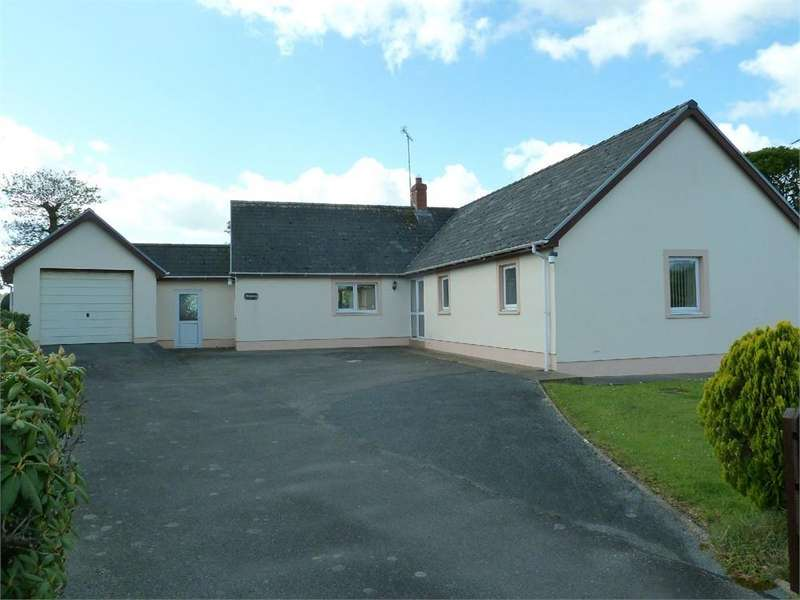 3 Bedrooms Detached Bungalow for sale in 6 Rhodfa Deg, Penybryn, Cardigan, Pembrokeshire