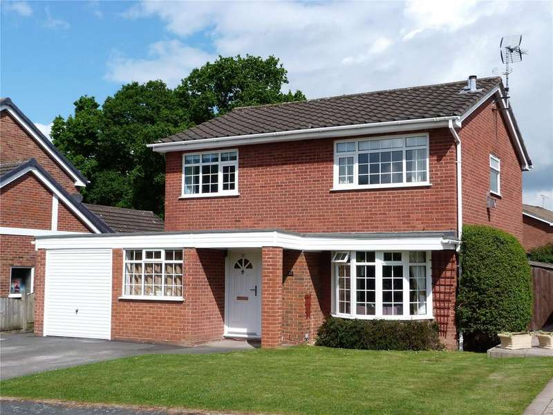 4 Bedrooms Detached House for sale in Edgewood Drive, Wistaston, Crewe, Cheshire, CW2