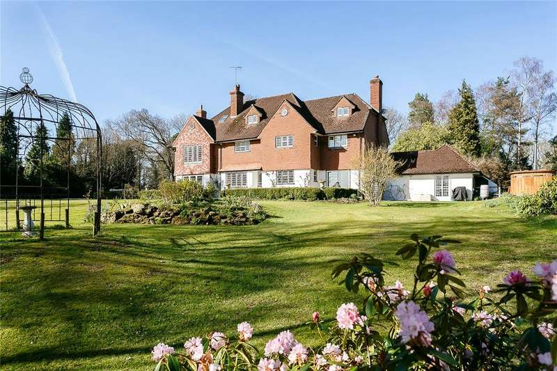 6 Bedrooms Detached House for sale in Vann Lake Road, Ockley, Dorking, Surrey