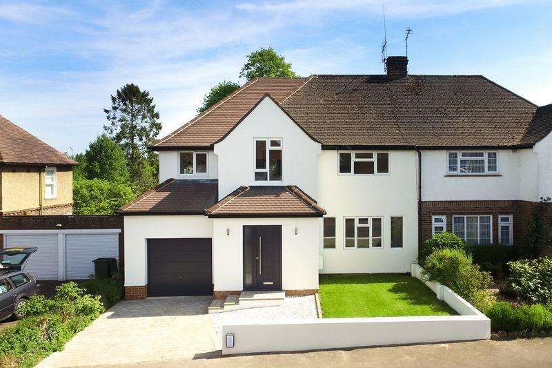 5 Bedrooms Semi Detached House for sale in Lea Road, Harpenden