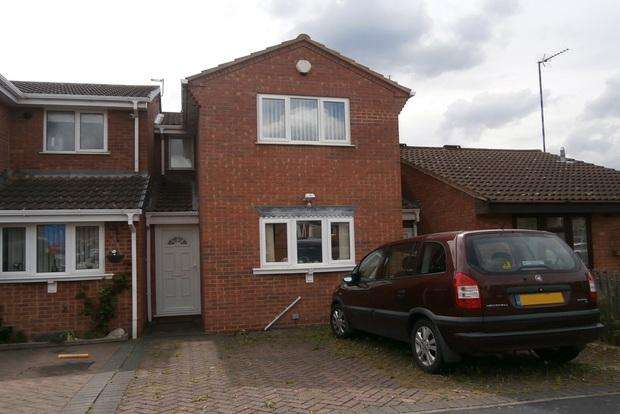 3 Bedrooms Semi Detached House for sale in The Poppins, Anstey Heights, Leicester, LE4