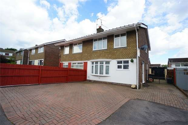 3 Bedrooms Semi Detached House for sale in Court Gardens, Rogerstone, NEWPORT