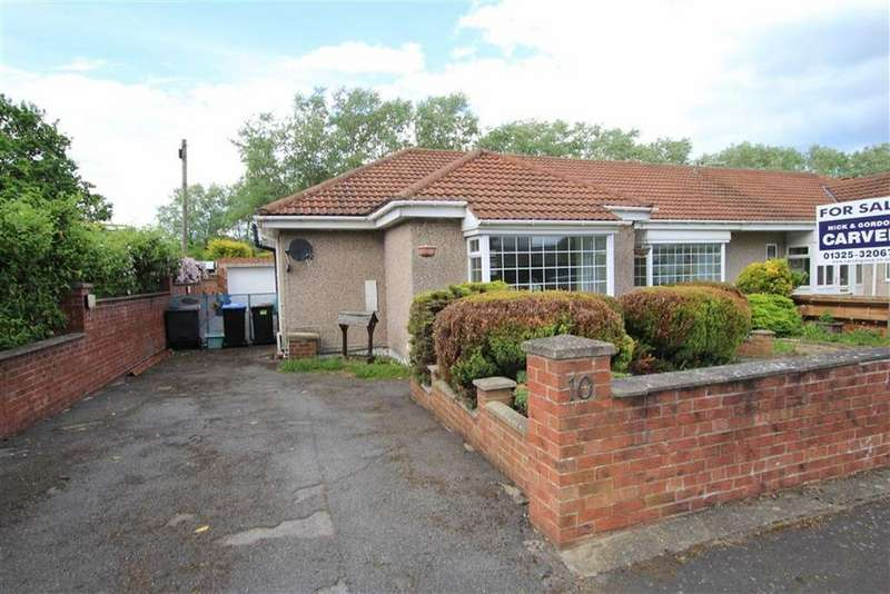 3 Bedrooms Semi Detached Bungalow for sale in Bickford Terrace, Newton Aycliffe, County Durham