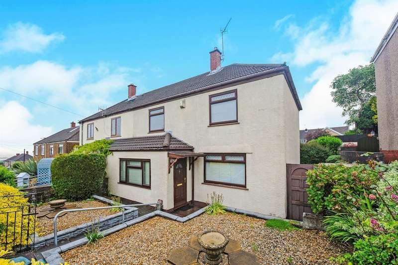 3 Bedrooms Semi Detached House for sale in Colwyn Avenue, Winch Wen, Swansea