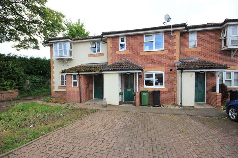 2 Bedrooms Terraced House for sale in Stroucken Way, Holmer, Hereford, HR4