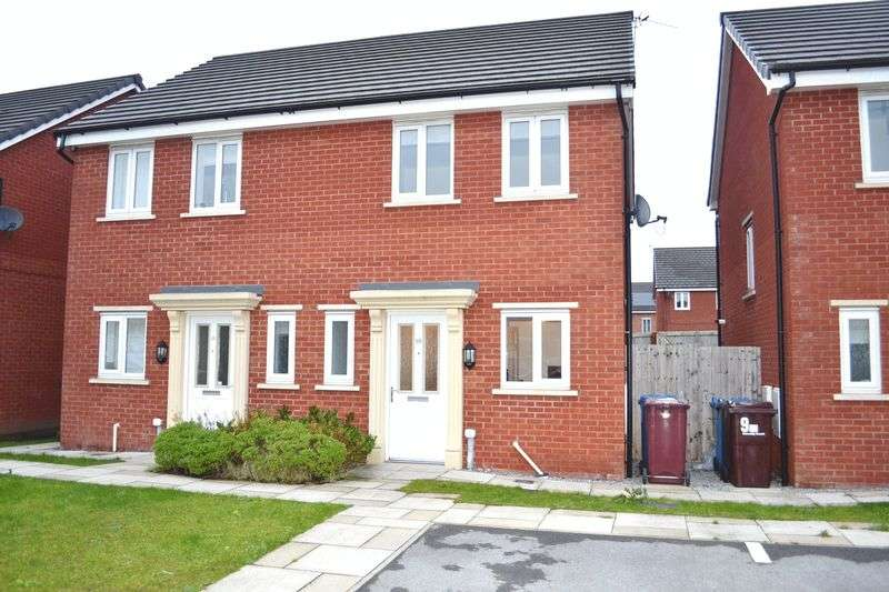 2 Bedrooms Semi Detached House for sale in Riverside Mews, Springfield Crescent, Liverpool L36