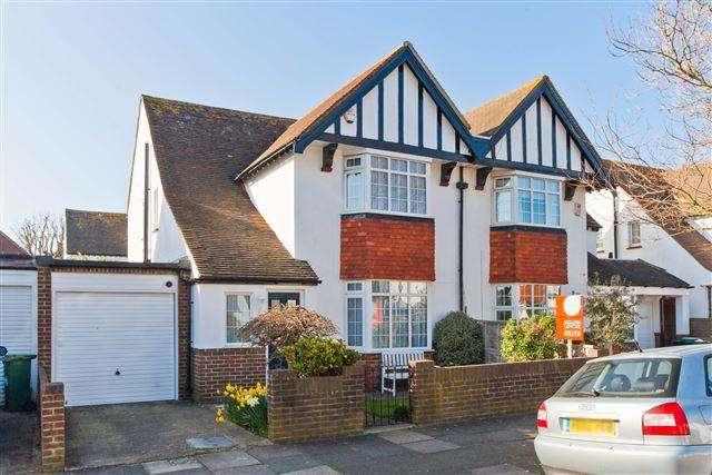 3 Bedrooms Semi Detached House for sale in Derek Avenue, Hove