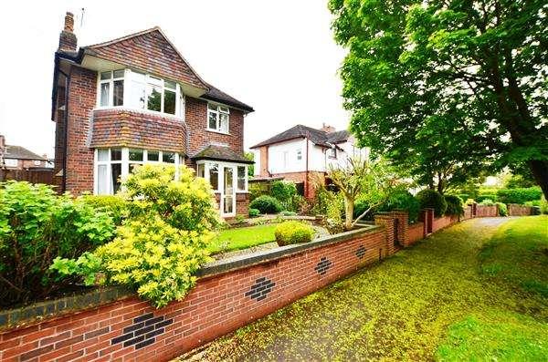 3 Bedrooms Detached House for sale in Seabridge Road, Westlands, Newcastle-under-Lyme