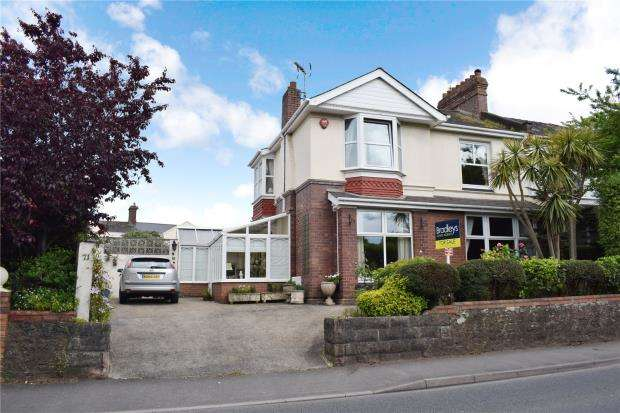 5 Bedrooms Semi Detached House for sale in Dartmouth Road, Paignton, Devon