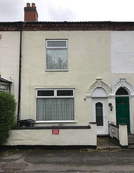2 Bedrooms Terraced House for sale in Wesley Road, Erdington