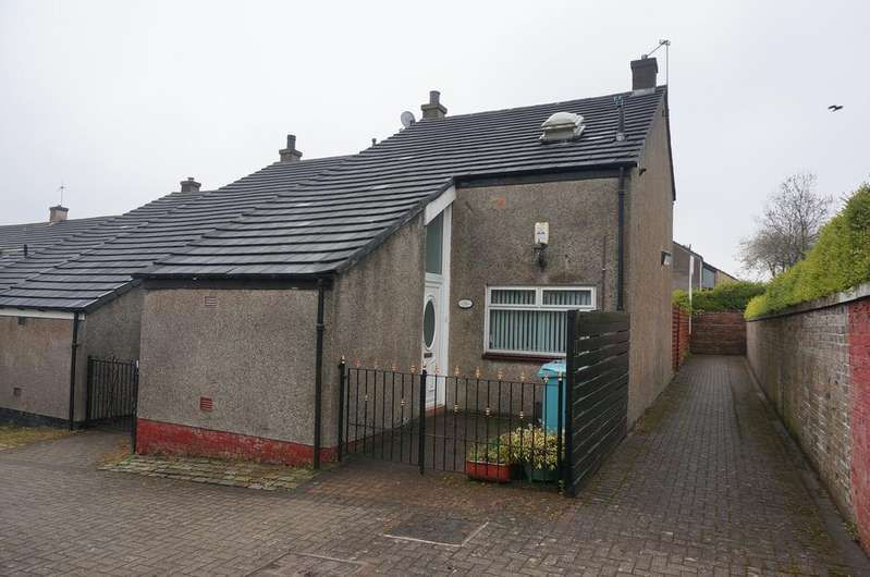 2 Bedrooms End Of Terrace House for sale in Clouden Road, Kildrum, Cumbernauld G67