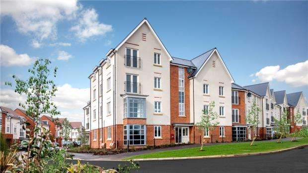 2 Bedrooms Apartment Flat for sale in Greyfriers Court, London Road, Wokingham